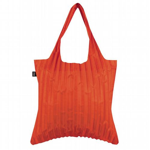 Pleated Shopper - Orange